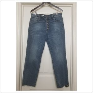 Kut from the Cloth | High Rise Ankle Jeans